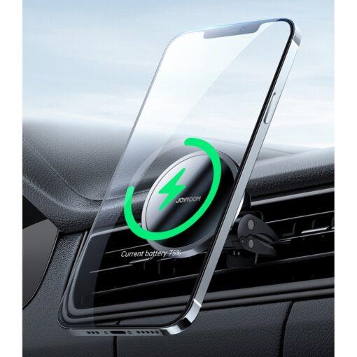 iPhone juhtmevaba laadija ja telefonihoidik autosse 4