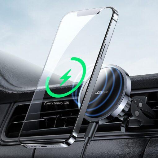 iPhone juhtmevaba laadija ja telefonihoidik autosse 5