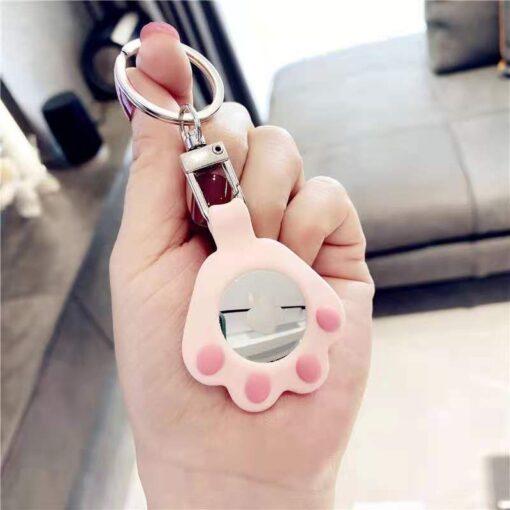 Airtag votmehoidja ja umbris kassi kapp roosa 2