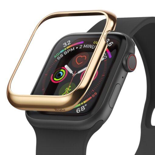 Apple Watch kaitseraam Ringke Bezel Styling kuldne Watch 6 40mm Watch 5 40mm Watch 4 40mm Watch SE 40mm