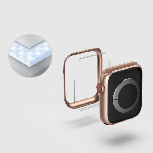 Apple Watch kaitseraam Ringke Bezel Styling kuldne Watch 6 40mm Watch 5 40mm Watch 4 40mm Watch SE 40mm 6
