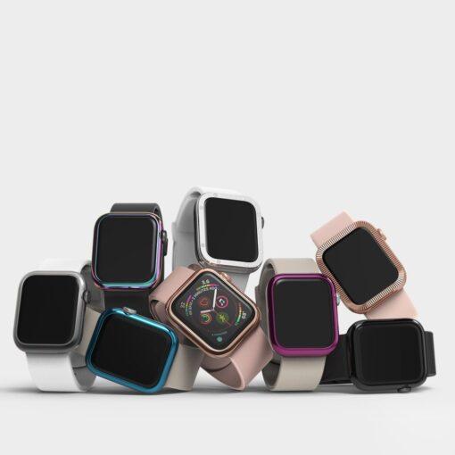 Apple Watch kaitseraam Ringke Bezel Styling kuldne Watch 6 40mm Watch 5 40mm Watch 4 40mm Watch SE 40mm 8