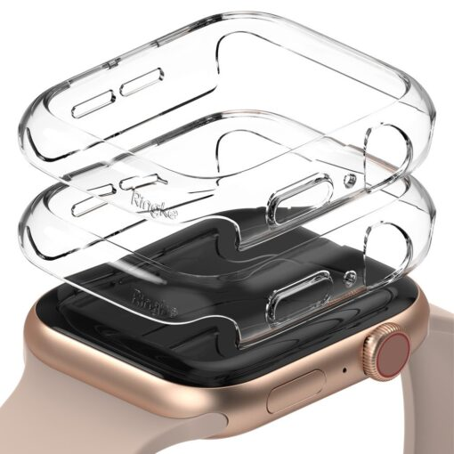 Apple Watch umbris Ringke Slim 2tk Watch 6 40mm Watch 5 40mm Watch 4 40mm Watch SE 40mm labipaistev labipaistev