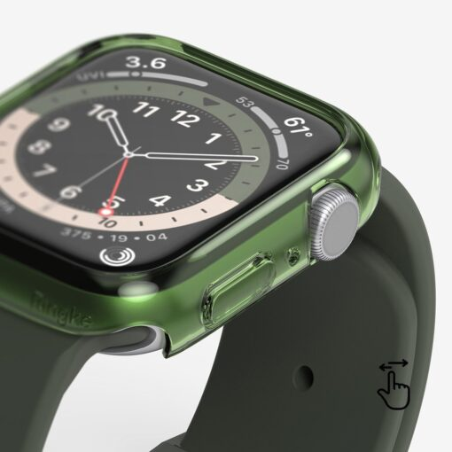 Apple Watch umbris Ringke Slim 2tk Watch 6 40mm Watch 5 40mm Watch 4 40mm Watch SE 40mm labipaistev lilla 10