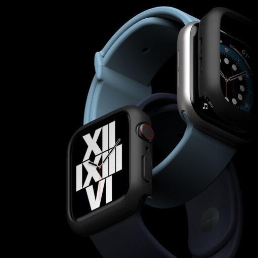Apple Watch umbris Ringke Slim 2tk Watch 6 40mm Watch 5 40mm Watch 4 40mm Watch SE 40mm labipaistev roosa 2