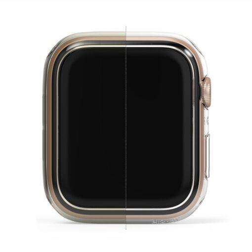 Apple Watch umbris Ringke Slim 2tk Watch 6 40mm Watch 5 40mm Watch 4 40mm Watch SE 40mm labipaistev roosa 6