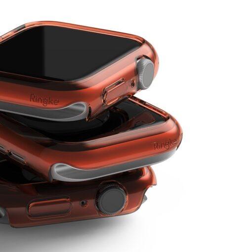 Apple Watch umbris Ringke Slim 2tk Watch 6 40mm Watch 5 40mm Watch 4 40mm Watch SE 40mm labipaistev roosa 7