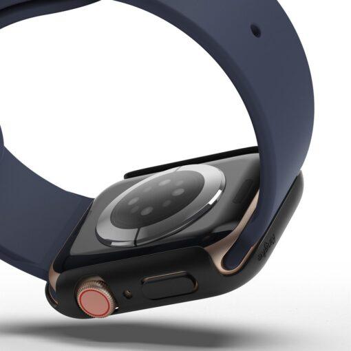 Apple Watch umbris Ringke Slim 2tk Watch 6 44mm Watch 5 44mm Watch 4 44mm Watch SE 44mm labipaistev valge 5