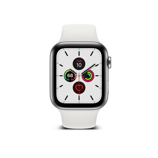 Apple Watch umbris Ringke Slim 2tk Watch 6 44mm Watch 5 44mm Watch 4 44mm Watch SE 44mm labipaistev valge 9