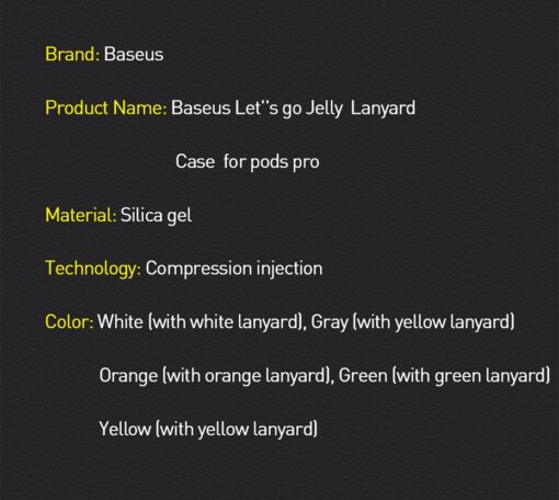 Baseus Lets Go AirPods Pro silikoonist umbris roheline 18