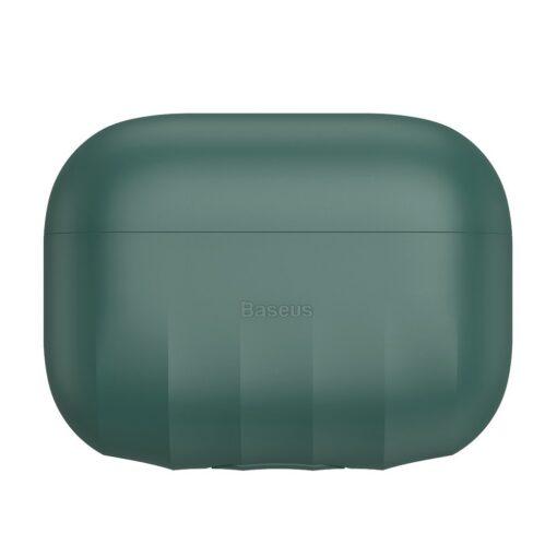 Baseus Shell Airpods Pro silikoonist umbris roheline 1