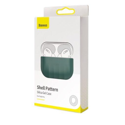 Baseus Shell Airpods Pro silikoonist umbris roheline 17