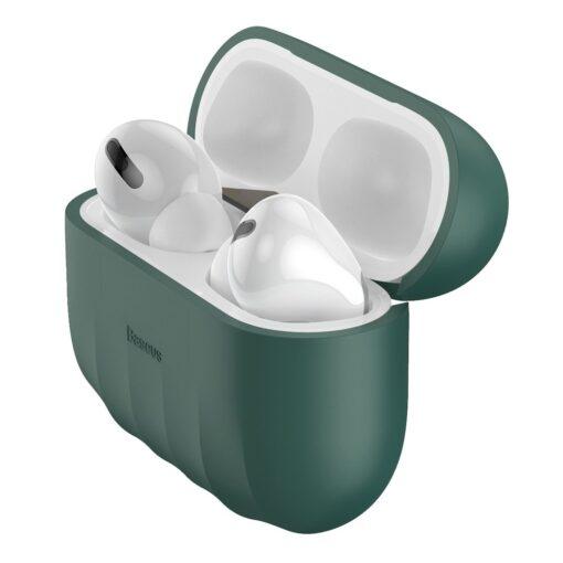 Baseus Shell Airpods Pro silikoonist umbris roheline