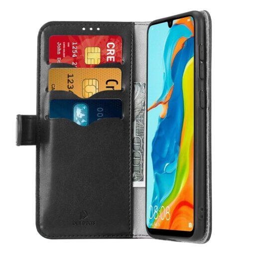 Huawei P30 Lite kaarditaskuga kaaned must 1