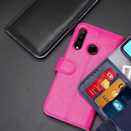 Huawei P30 Lite kaarditaskuga kaaned must 10