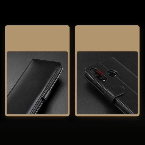 Huawei P30 Lite kaarditaskuga kaaned must 12