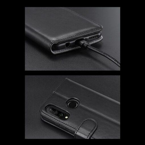 Huawei P30 Lite kaarditaskuga kaaned must 15