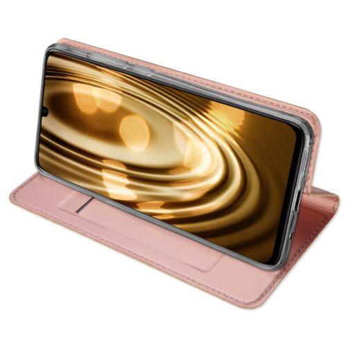 Huawei P30 Lite kunstnahast kaaned DUX DUCIS Skin Pro Bookcase sinine 12