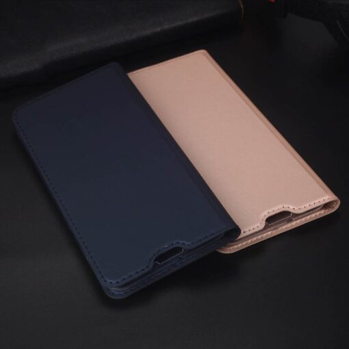 Huawei P30 Lite kunstnahast kaaned DUX DUCIS Skin Pro Bookcase sinine 14