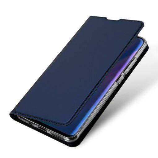 Huawei P30 Lite kunstnahast kaaned DUX DUCIS Skin Pro Bookcase sinine 3