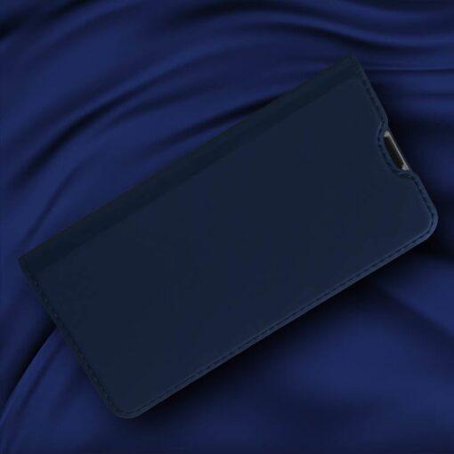 Huawei P30 Lite kunstnahast kaaned DUX DUCIS Skin Pro Bookcase sinine 5