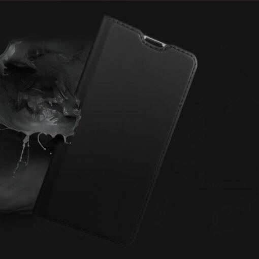 Huawei P30 Lite kunstnahast kaaned DUX DUCIS Skin Pro Bookcase sinine 7