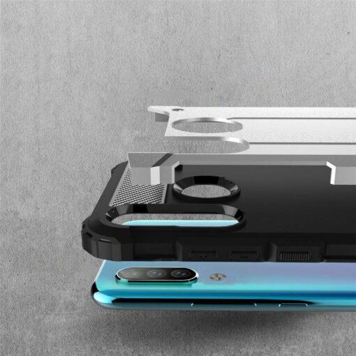 Huawei P30 Lite umbris Hybrid Armor plastikust taguse ja silikoonist raamiga hobe 2