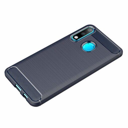 Huawei P30 Lite umbris silikoonist Carbon sinine 3