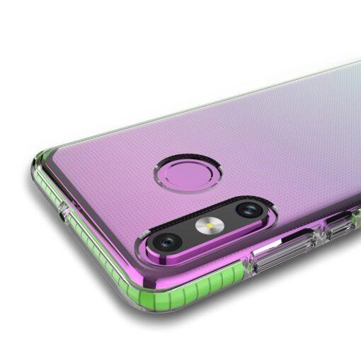 Huawei P30 Lite umbris silikoonist varvilise raamiga roosa 1