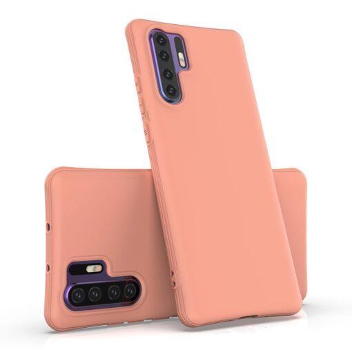 Huawei P30 Pro tugevdatud nurkadega silikoonist umbris roosa 3