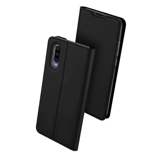 Huawei P30 kunstnahast kaaned DUX DUCIS Skin Pro Bookcase must 1