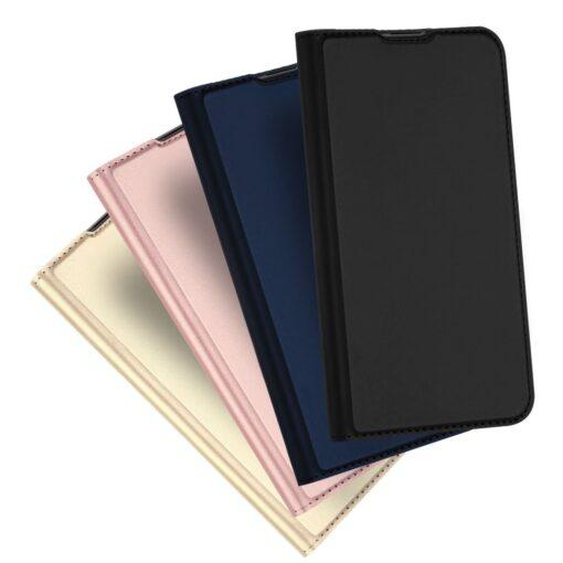 Huawei P30 kunstnahast kaaned DUX DUCIS Skin Pro Bookcase must 10