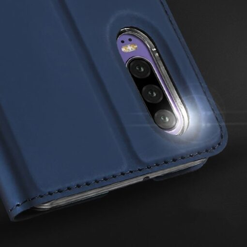 Huawei P30 kunstnahast kaaned DUX DUCIS Skin Pro Bookcase must 11