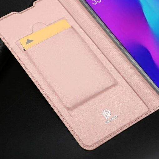 Huawei P30 kunstnahast kaaned DUX DUCIS Skin Pro Bookcase must 13