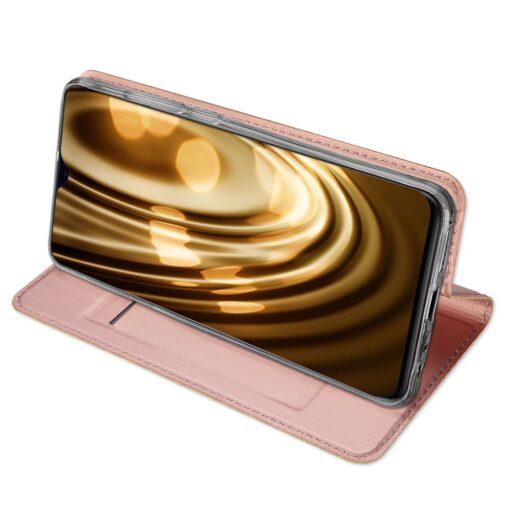 Huawei P30 kunstnahast kaaned DUX DUCIS Skin Pro Bookcase must 14