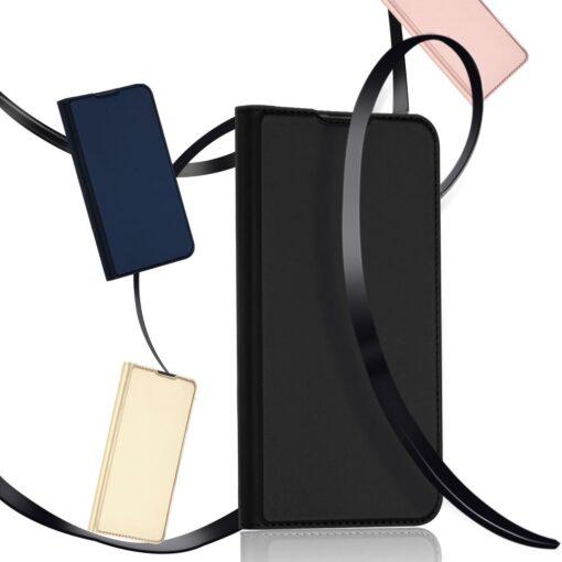 Huawei P30 kunstnahast kaaned DUX DUCIS Skin Pro Bookcase must 15