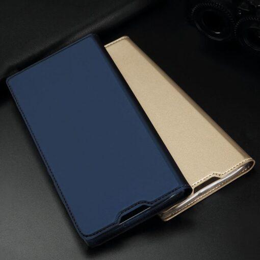Huawei P30 kunstnahast kaaned DUX DUCIS Skin Pro Bookcase must 16