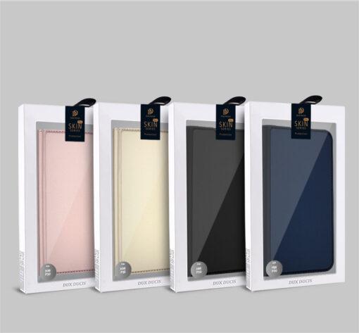 Huawei P30 kunstnahast kaaned DUX DUCIS Skin Pro Bookcase must 20