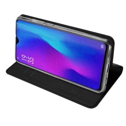 Huawei P30 kunstnahast kaaned DUX DUCIS Skin Pro Bookcase must 4