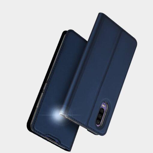 Huawei P30 kunstnahast kaaned DUX DUCIS Skin Pro Bookcase must 9