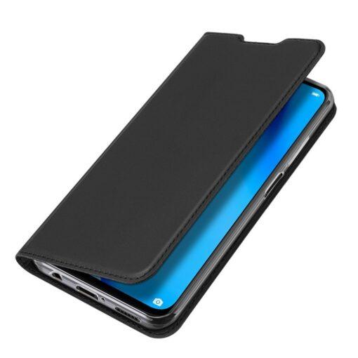Huawei P40 Lite kunstnahast kaaned DUX DUCIS Skin Pro Bookcase must 3