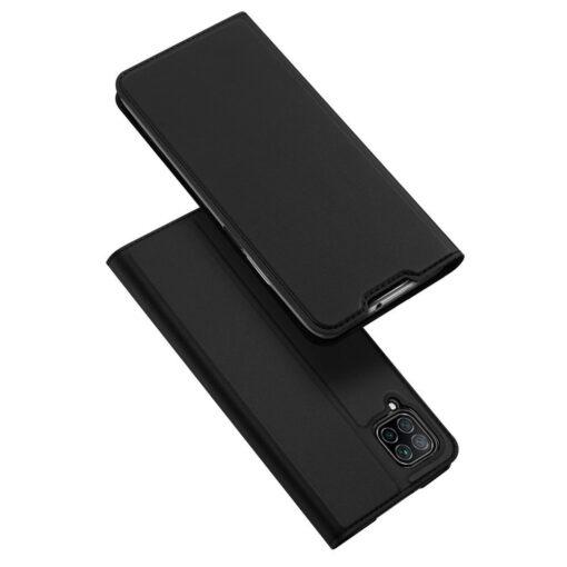 Huawei P40 Lite kunstnahast kaaned DUX DUCIS Skin Pro Bookcase must