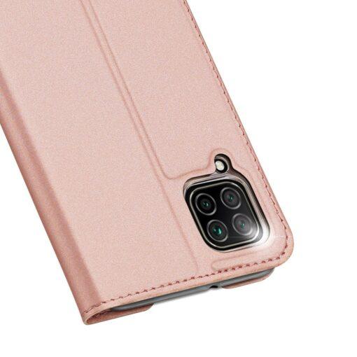 Huawei P40 Lite kunstnahast kaaned DUX DUCIS Skin Pro Bookcase roosa 2