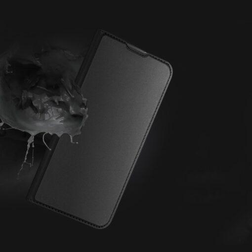 Huawei P40 Lite kunstnahast kaaned DUX DUCIS Skin Pro Bookcase sinine 12