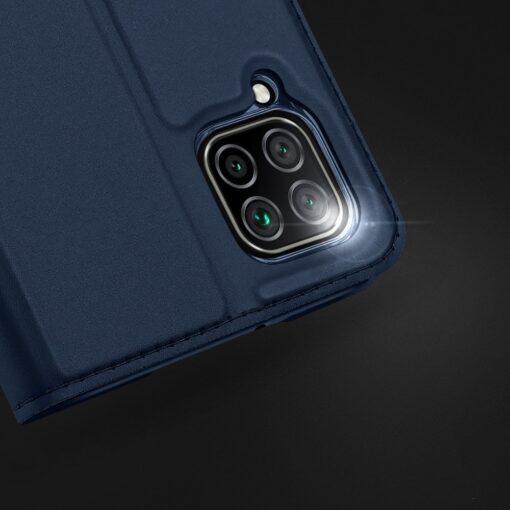 Huawei P40 Lite kunstnahast kaaned DUX DUCIS Skin Pro Bookcase sinine 14