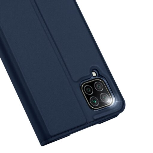 Huawei P40 Lite kunstnahast kaaned DUX DUCIS Skin Pro Bookcase sinine 2