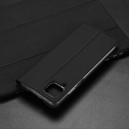 Huawei P40 Lite kunstnahast kaaned DUX DUCIS Skin Pro Bookcase sinine 20