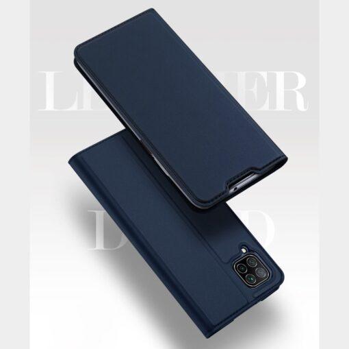 Huawei P40 Lite kunstnahast kaaned DUX DUCIS Skin Pro Bookcase sinine 9