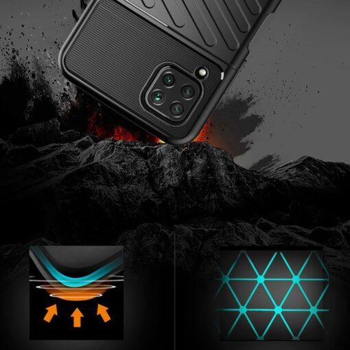 Huawei P40 Lite tugev umbris Thunder silikoonist must 2