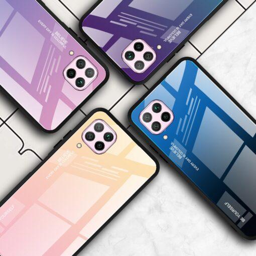 Huawei P40 Lite umbris gradient roosa 13